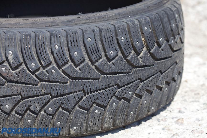 Зимние шины для поло седан