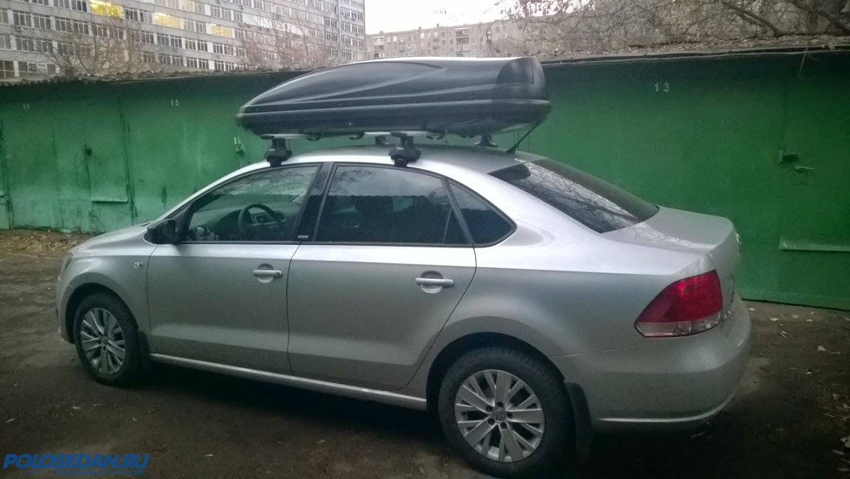 Багажник на крышу VW Polo sedan