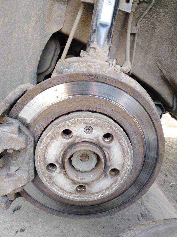 Ненормальный износ тормозных дисков