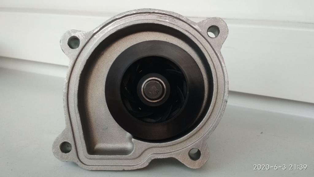 Как часто надо менять помпу на ДВС CFNA в VW Polo седан - Стр 42