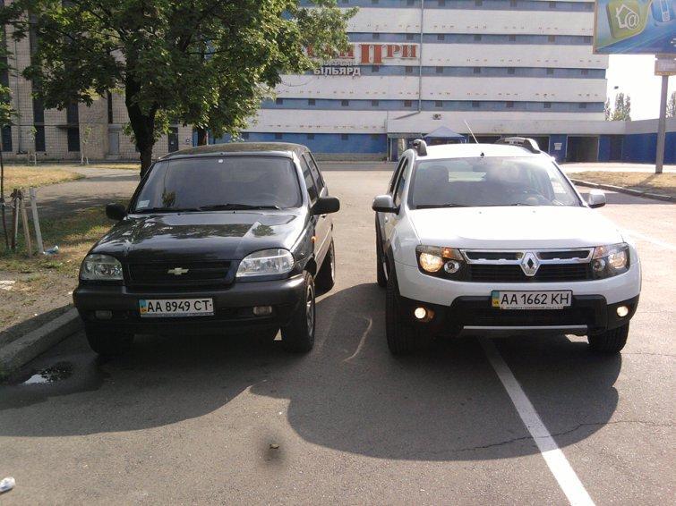 Renault Duster конкурент или нет.