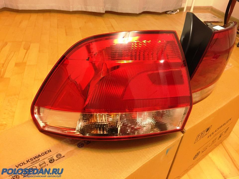 Продам задние фонари Поло седан 2010-2014 г.в