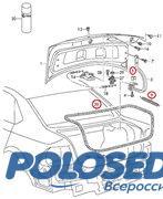 Разбор VW POLO седан, б/у детали и запчасти