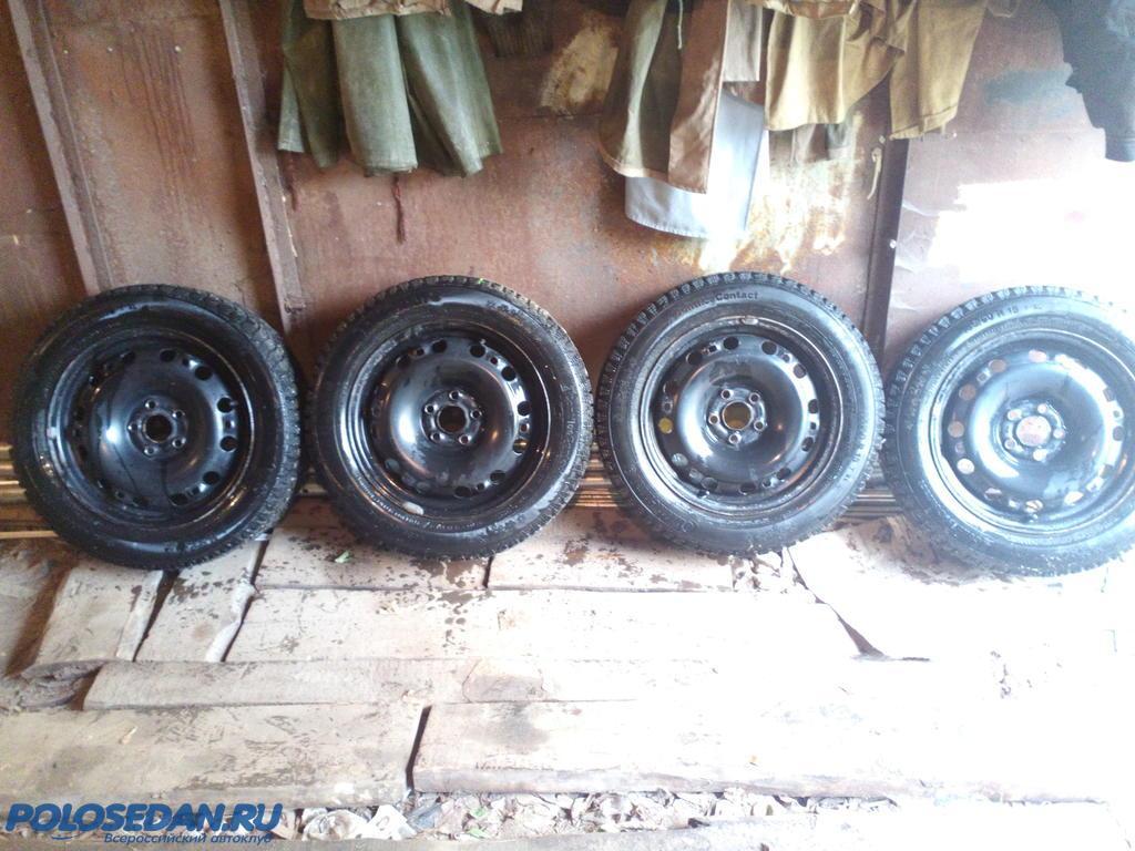 Продам зимние колеса в сборе 185/60 R15